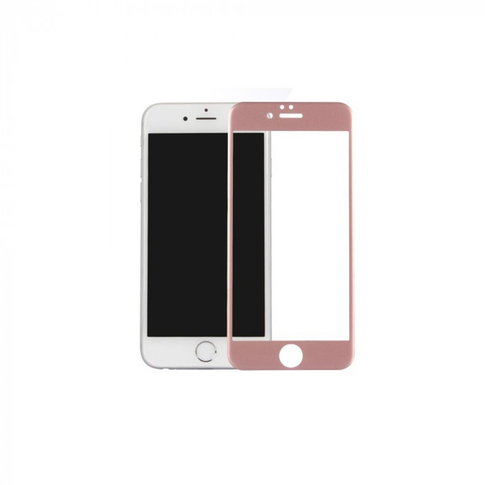 Tempered Glass - Ultra Smart Protection Iphone 6/6s fulldisplay Rose Gold foto mare