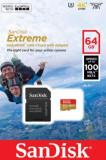 Card de memorie SanDisk Extreme, 64GB, pana la 667 MB/s