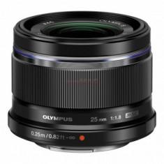 Obiectiv Olympus M.ZUIKO DIGITAL (Negru) 25mm - Obiectiv mirrorless