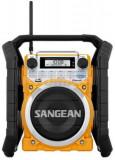 Radio Sangean U-4 BT (Negru/Galben)