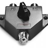 Splitter coaxial Albrecht 7401 cu 2 cai pentru montaj 2 antene statii radio