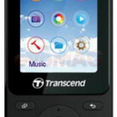 MP4 Player Transcend TS8GMP710K, 8GB, Radio FM (Negru) - Mp4 playere