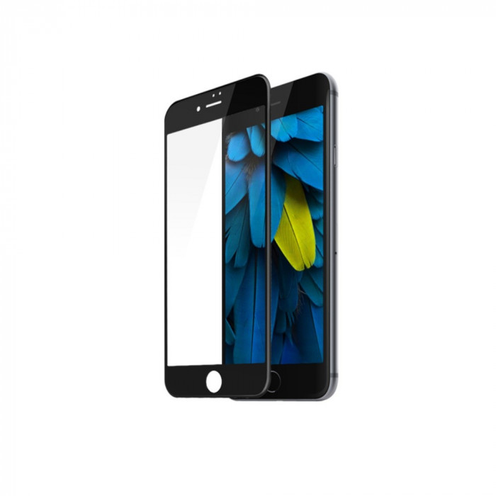 Tempered Glass - Ultra Smart Protection Iphone 7 Fulldisplay negru foto mare