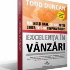 Excelenta In Vanzari - Todd Duncan - Carte afaceri