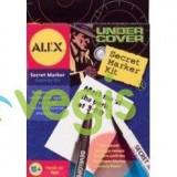 Alex Toys - Kit de spionaj pentru mesaje secrete 5 ani+