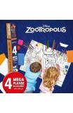 Disney: Zootropolis - Lumea magica a culorilor (4 Megaplanse)
