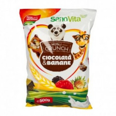 Musli cu Babane si Ciocolata 500g Sano Vita - Cereala