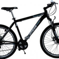 Bicicleta Omega Dominator, Roti 26inch, 21 viteze (Negru/Albastru) - Bicicleta de oras