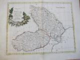Moldova si Valahia Principatele 1782 Veneția Antonio Zatta hartă color 012