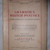 GRAMATICA MUZICII PSALTICE STUDIU COMPARATIV CU NOTATIA LINIARA