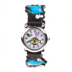Ceas pentru copii 1609 negru - Ceas copii