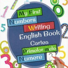 My First Numbers Writing English Book. Cartea primelor mele numere - Carte educativa