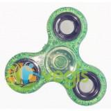 Finger Fidget Spinner - Verde Stralucitor