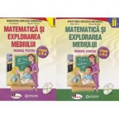 Matematica si explorarea mediului clasa 2 partea I+ partea II - Anina Badescu, Mihaela-Ana Radu - Manual scolar