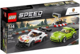 LEGO® Speed Champions Porsche 911 RSR es 911 Turbo 3.0 75888