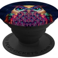 Suport Universal Popsockets cu Stand Adeziv, Model Owl