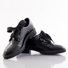 Pantofi dama Simona - Pantof dama, Culoare: Negru, Marime: 36, 37, 39, 40, 41, Cu talpa joasa