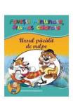Ursul pacalit de vulpe - Povesti minunate, frumos colorate