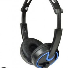 Casti cu microfon MSONIC Gaming MH563KB (Albastru/Negru)