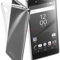 Protectie spate Cellularline FINECXPRZ5PRT pentru Sony Xperia Z5 (Transparent) - Husa Telefon