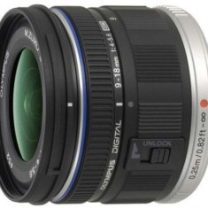 Obiectiv Foto Olympus PEN M.Zuiko ED 9-18mm 1:4.0-5.6 / EZ-M918 (Negru) - Obiectiv mirrorless