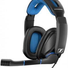 Casti Gaming Sennheiser GSP 300, Microfon (Negru/Albastru)