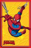 Covor Disney Kids Spider Man Yellow, Imprimat Digital