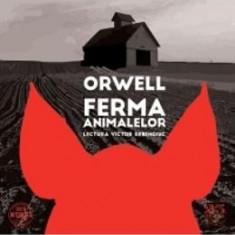 Audio Book Cd - Ferma animalelor - George Orwell - Lectura Victor Rebengiuc