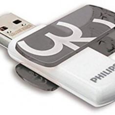 Stick USB Philips Vivid Edition, 32GB, USB 3.0 (Alb/Gri)