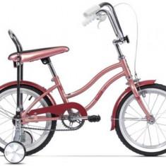 Bicicleta Pegas Mezin 2017 Fata, Cadru 9inch, Roti 16inch (Roz) - Bicicleta copii