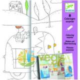 Joc creativ de desenat cu surprize Djeco