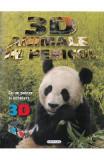 3D animale in pericol (poster + ochelari)