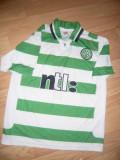 Tricou al Echipei Fotbal Celtic -Glasgow Scotia , masura L, Alb