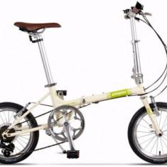 Bicicleta Pegas Teoretic 7S, Pliabila, 7 Viteze (Crem) - Bicicleta pliabila