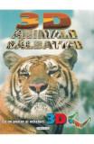 3D Animale salbatice (poster + ochelari)