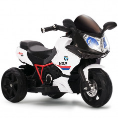 Motocicleta electrica copii Racer 6187 Black - Masinuta electrica copii