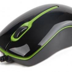 Mouse Gembird MUS-U-004-G (Negru/Verde)