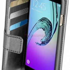 Husa Book cover Cellularline BOOKAGGALA716K pentru Samsung Galaxy A7 (2016) (Negru) - Husa Telefon