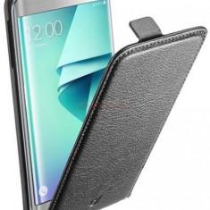 Husa Flip Cover Cellularline Essential FLAPESSGALS7EK pentru Samsung Galaxy S7 Edge (Negru) - Husa Telefon