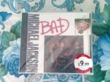 Michael jackson bad maxi single sigilat, CD, Epic rec