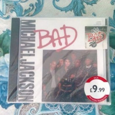 Michael jackson bad maxi single sigilat - Muzica Pop Epic rec, CD