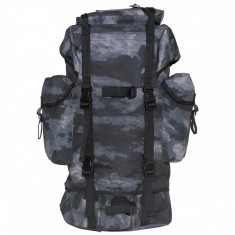 Rucsac MFH BW Combat Camuflaj HDT Camo Grey 65L 30253H, 25 L