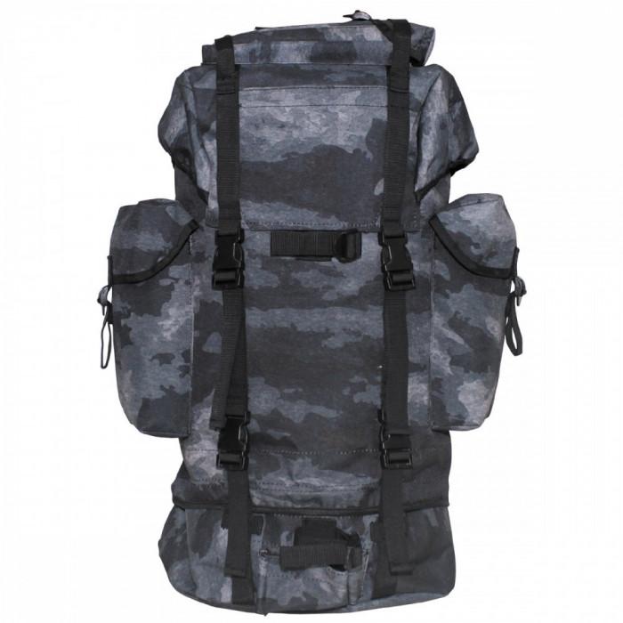 Rucsac MFH BW Combat Camuflaj HDT Camo Grey 65L 30253H