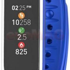 Bratara Fitness MyKronoz ZeFit 3 HR, Notificari, Bluetooth (Albastru/Argintiu)