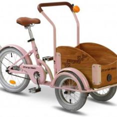 Bicicleta Pegas Mini Cargo 1S (Roz) - Bicicleta copii