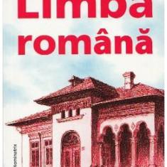 Limba romana - Maria-Emilia Goian - Manual scolar