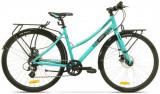 Bicicleta Pegas Hoinar2 8S, Cadru 18inch, Roti 28inch, 8 Viteze (Turcoaz)