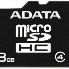 Card de memorie A-DATA micro SDHC 8GB (Clasa 4)