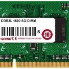 Memorie Laptop Transcend TS512MSK64W6H DDR3, 1x4GB, 1600MHz, CL11, 1.35v - Memorie RAM laptop