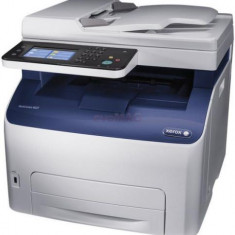 Multifunctional color Xerox WorkCentre 6027V_NI, laser color, A4, Fax, ADF, Wireless, Cablu USB inclus - Multifunctionala